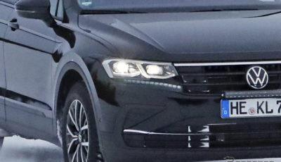VW ティグアン 改良新型プロトタイプ(スクープ写真)