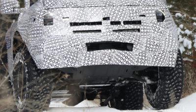 フォード ブロンコ 2ドア 開発車両(スクープ写真)