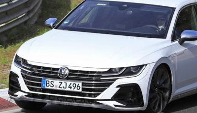 VW アルテオンR 開発車両(スクープ写真)