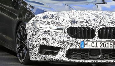 BMW M5 セダン 改良新型プロトタイプ(スクープ写真)