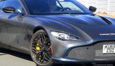 アストンマーティン DBS GT ザガート 市販型プロトタイプ(スクープ写真)