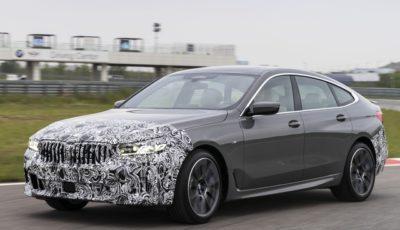 BMW 6シリーズ・グランツーリスモ改良新型の開発プロトタイプ