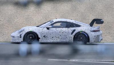 ポルシェ 911 GT3 R 新型プロトタイプ(スクープ写真)