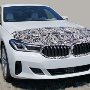 BMW 6シリーズ グランツーリスモ 改良新型プロトタイプ(スクープ写真)