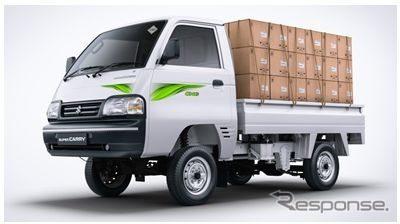 マルチスズキ・スーパーキャリイの天然ガス車「S-CNG」