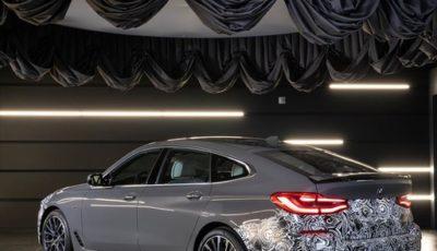 BMW 6シリーズ・グランツーリスモ 改良新型のティザーイメージ