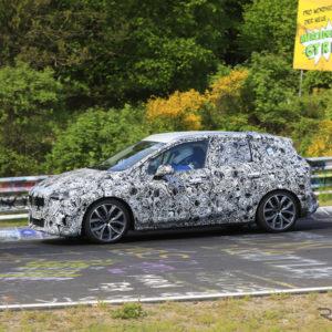 BMW 2シリーズ アクティブツアラー 新型プロトタイプ(スクープ写真)