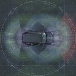 ボルボカーズの自動運転技術のイメージ