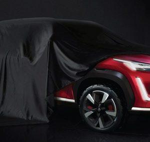 日産の新型SUVコンセプトのティザーイメージ