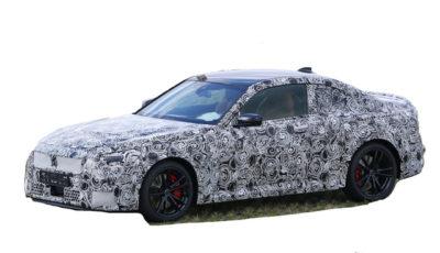 BMW 2シリーズ クーペ 次期型プロトタイプ(スクープ写真)