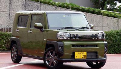 発売後1ヶ月で1万8000台もの受注を獲得した新型タフト。写真はGターボ2WD