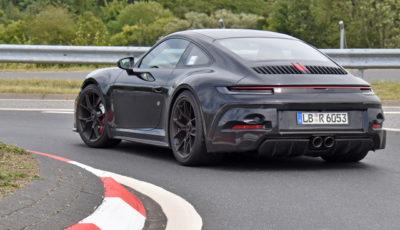 ポルシェ 911 GT3ツーリング 新型プロトタイプ(スクープ写真)