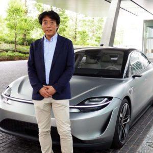 「VISION-S」の開発責任者を務めるソニー 執行役員 AIロボティクスビジネス担当 川西 和泉さん