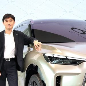 インフィニティ グローバルデザイン担当シニア・デザイン・ダイレクターの中村泰介氏