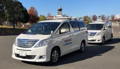 世界初か? 熊谷市がバス隊列走行の実証実験を実施