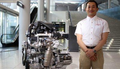 本田技研工業 パワーユニット開発統括部 パワーユニット開発二部 小型ドライブユニット開発課 アシスタントチーフエンジニアの鹿子木健さん