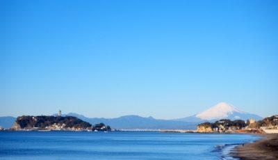 江の島(写真左の島)