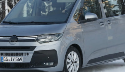 VW T7 市販型プロトタイプ(スクープ写真)