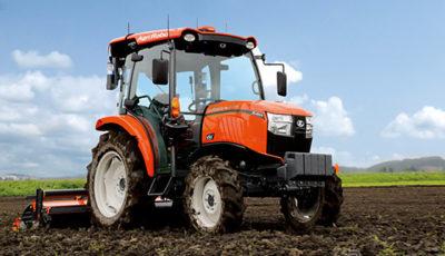 クボタの自動運転農機(参考画像)