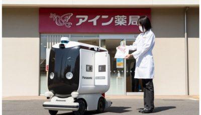 低速ロボットが薬品を配達(イメージ)