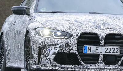 BMW M4 CSL 市販型プロトタイプ(スクープ写真)