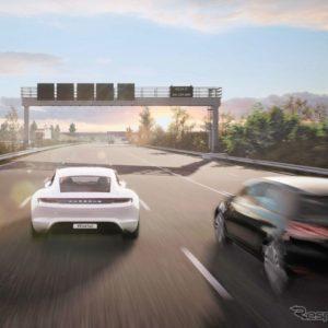 ポルシェの子会社のポルシェエンジニアリングがゲームエンジンを使用して自動運転などの先進運転支援システムを開発