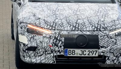 メルセデス AMG EQE プロトタイプ(スクープ写真)
