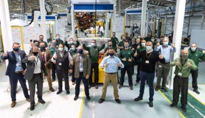 ロータスカーズの英国ヘセル工場で開始されたロータス・エミーラのプリプロダクション