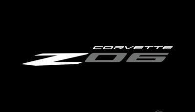 シボレー・コルベット Z06 新型のロゴ