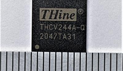 車載4カメラ対応低消費電力型高速インターフェース新製品THCV244A-QP