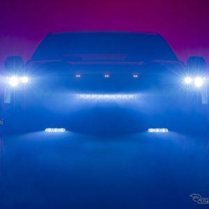 トヨタ・タンドラ 新型のティザーイメージ