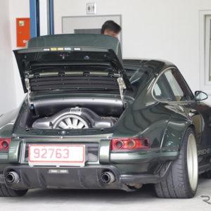 シンガー ポルシェ 911 DLS(スクープ写真)