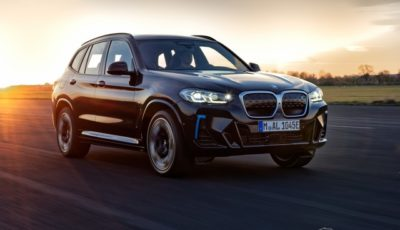 BMW iX3 改良新型