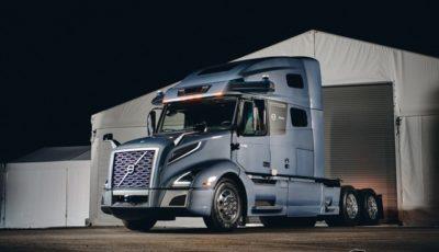 ボルボの自動運転トラックのプロトタイプ