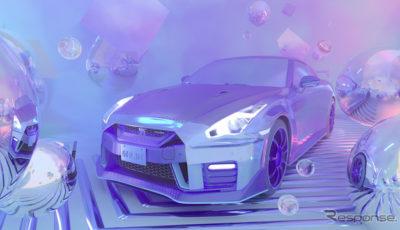 日産 GT-R NISMO のアートカー