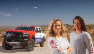日産 フロンティア 新型の米Rebelle Rally参戦車両とセドナ・ブリンソン/リン・ウッドワードの両選手
