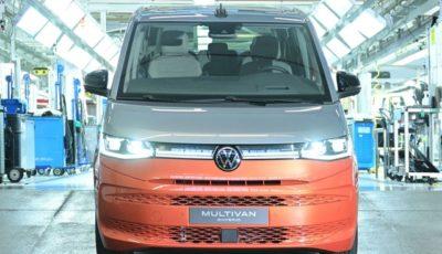 ドイツ・ハノーバー工場で生産が開始フォルクスワーゲン・マルチバン 新型のPHV「eハイブリッド」