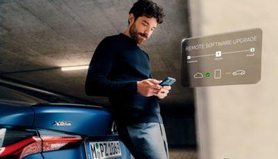 BMWの「リモートソフトウェアアップグレード」のイメージ