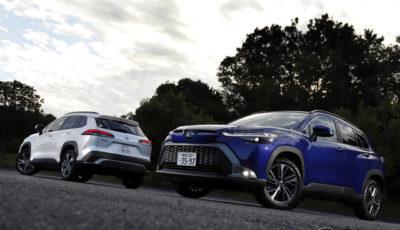 トヨタ カローラクロス Z(左がガソリン2WD、右がハイブリッド2WD)