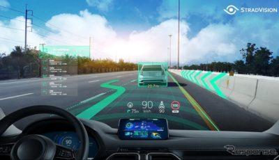 SVNetによる物体認識とARヘッドアップディスプレイのコンセプトイメージ