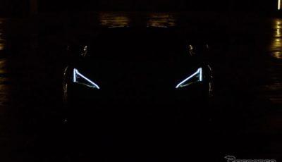 シボレー・コルベット Z06 新型のティザー写真